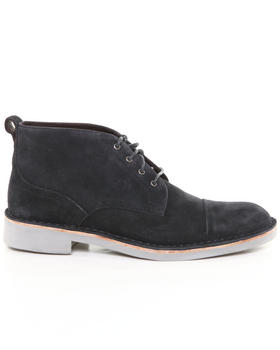 DJP OUTLET - Sid Eva Calf Suede Chukka Boot w/ Stitch Toe Detail