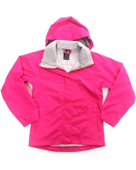 The North Face Girls Pink Resolve Jacket (4-16)