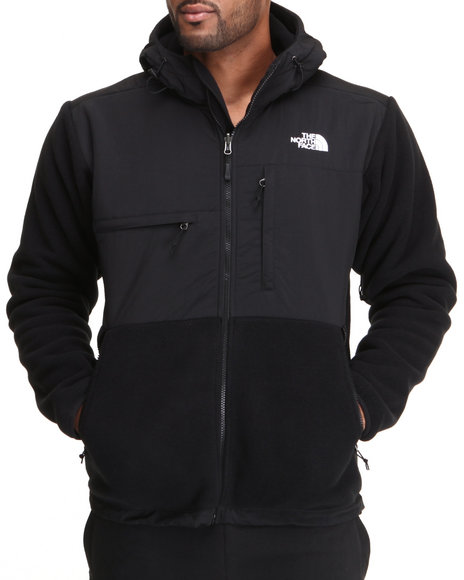 The North Face - Men Black Denali Hoodie