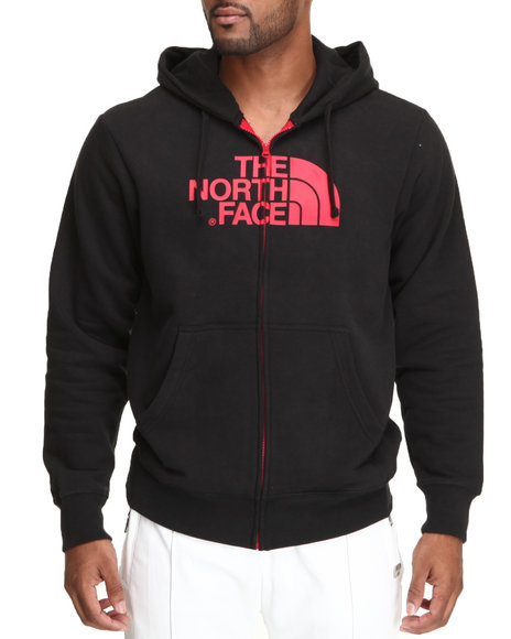 The North Face Black,Red Half Dome Full Zip Hoodie