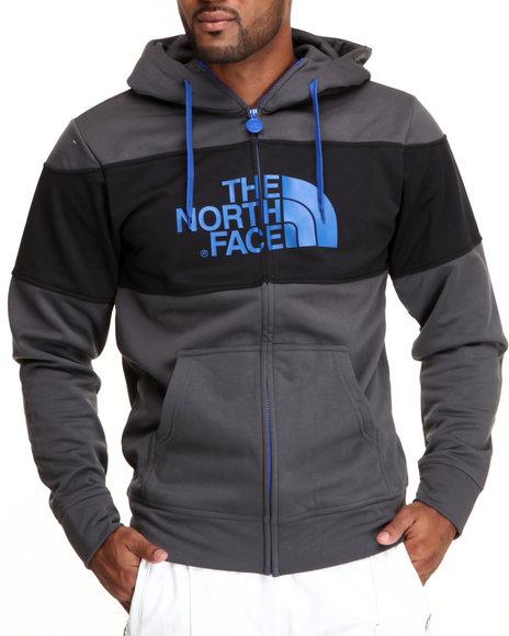 The North Face Grey Tnf Peak Dome Full Zip Hoodie