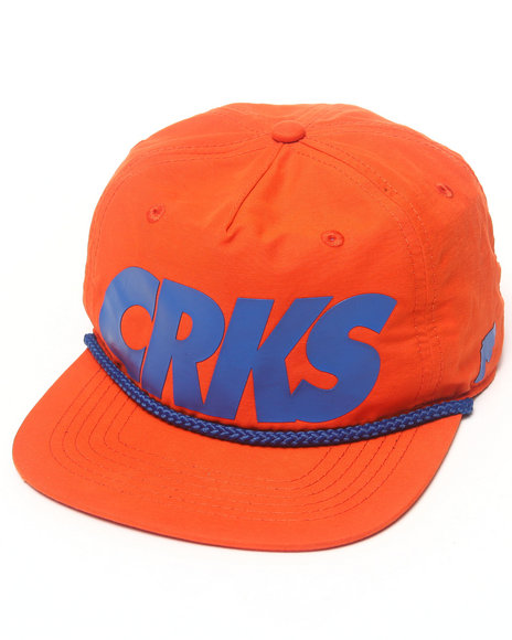 Crooks & Castles Crooks Golf Strapback Orange