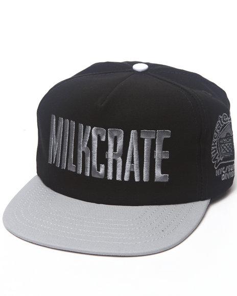 Milkcrate Nyc Milkcrate Custom Headwear Black