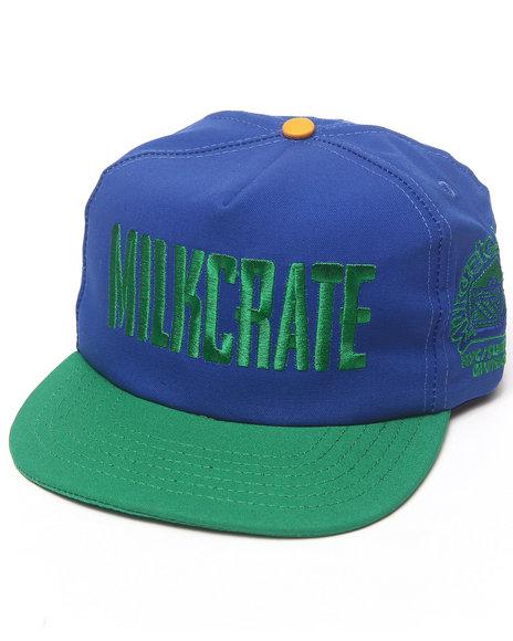 Drj Music Merch Milkcrate Custom Headwear Blue