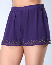 Women - Beaded Short