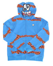 Sizes 8-20 - Big Kids - BOOSTER FLEECE HOODIE (8-20)