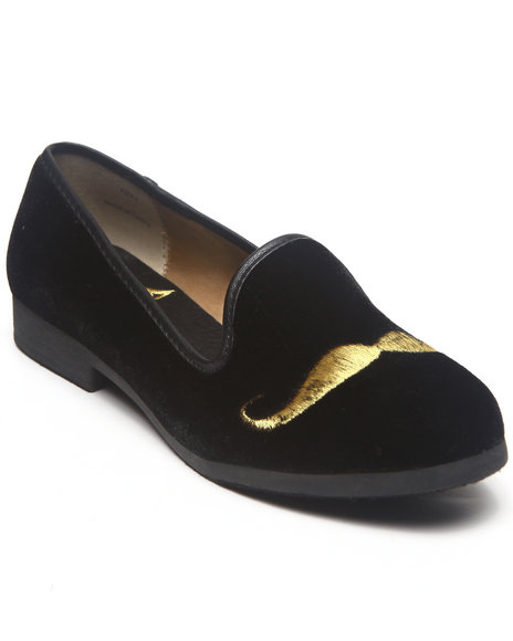 Y.R.U. - Women Black Low Stash Flat