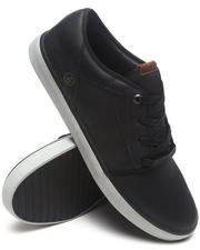 The Skate Shop - Grimm Gunmetal Grey Leather Sneakers