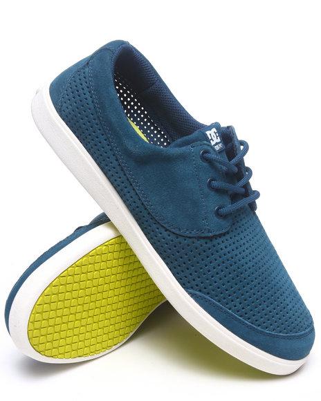 Dc Shoes Men Pool Le Sneakers Blue 11.5