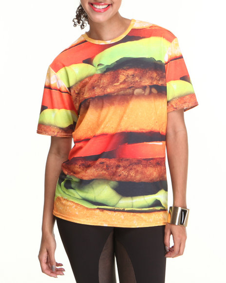 Mr. GUGU & Miss GO Multi Hamburger Tee
