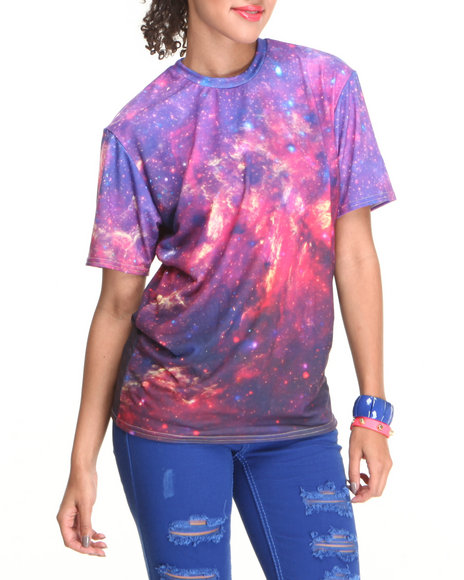Mr. GUGU & Miss GO Purple Purple Nebula Tee