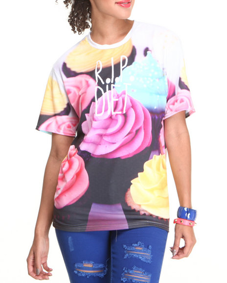 Mr. Gugu & Miss Go - Women Multi R.I.P. Diet Tee