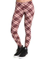 Basic Essentials - Plaid leggings
