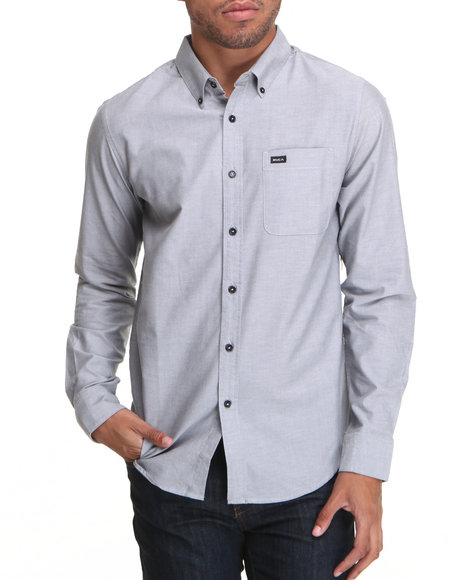 RVCA - That'll Do Oxford L/S Button-down