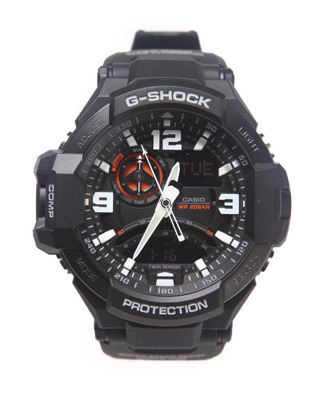 G-Shock By Casio Women G Aviation Watch Black 1SZ