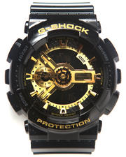 Accessories - GA-110 BLACK AND GOLD Watch