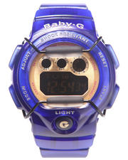 Women - Royal Blue Jelly Transparent Marine Resort Watch