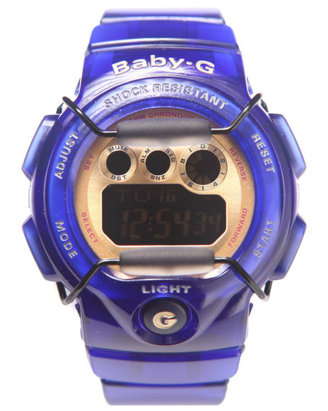 G-Shock By Casio Royal Blue Jelly Transparent Marine Resort Blue
