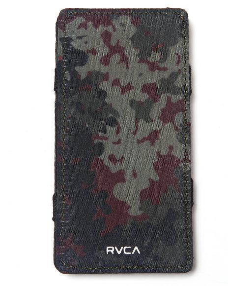 Rvca Magic Wallet Phone Case Camo