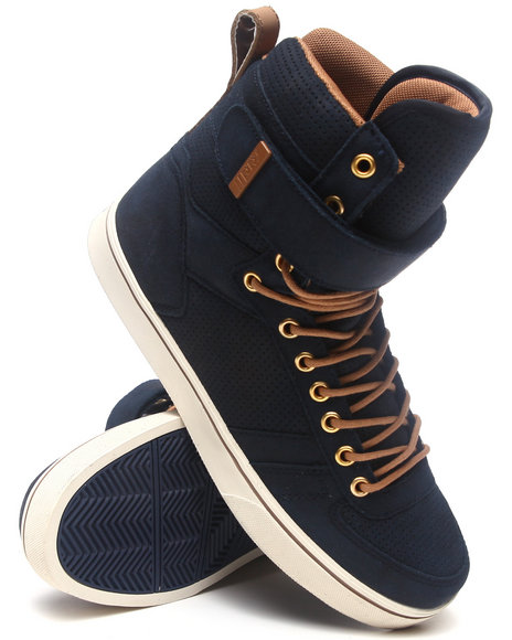 Radii Footwear Men Moon Walker Sneakers Navy 10.5