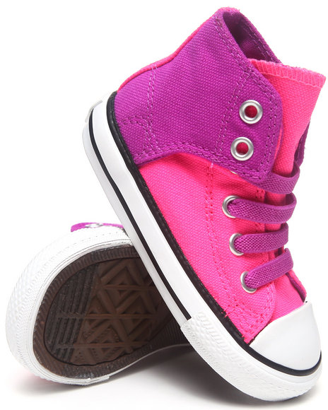Converse Girls Pink Chuck Taylor All Star Easy (11-3)