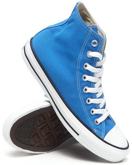 Converse Blue Converse Chuck Taylor All Star Hi Sneakers