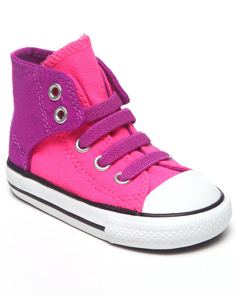 Converse Girls Pink Chuck Taylor All Star Easy (5-10)
