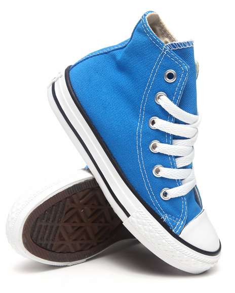 Converse Boys Blue Chuck Taylor All Star Hi (11-3)