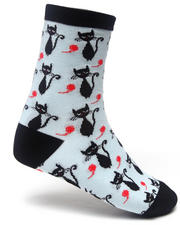 Sock it to Me - Black Cats Socks