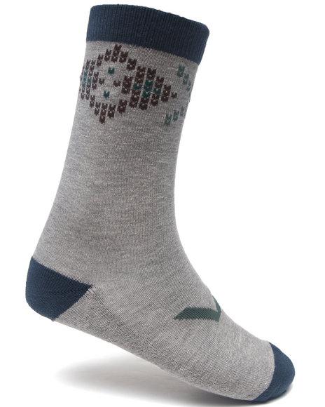 Rvca Theo Socks Light Grey