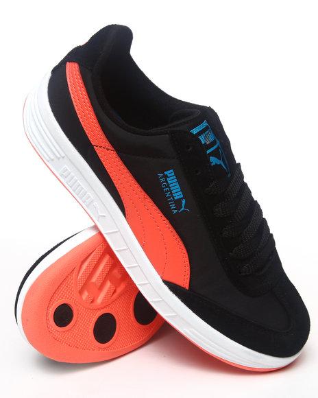 Puma Black Argentina Nylon Sneakers