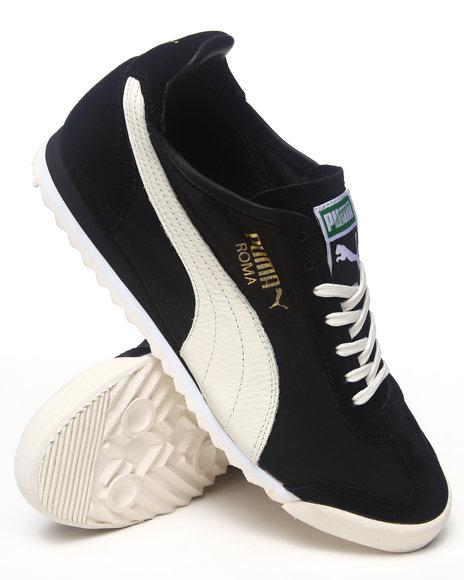 Puma Black Puma Nylon Slim Sneakers