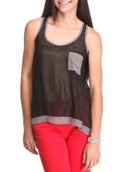 Fashion Lab - Sleeveless Flair Blouse