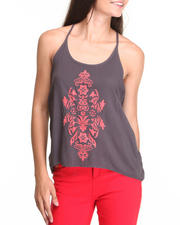 Women - T-Back Embellished Cami