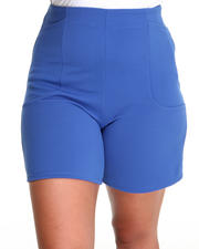 Plus Size - The Odomon Short w/deep pockets (plus)
