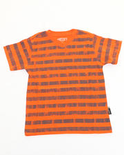 Sizes 8-20 - Big Kids - STRIPED V-NECK TEE (8-20)