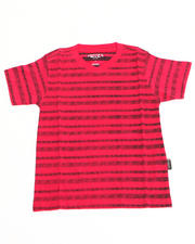 Sizes 8-20 - Big Kids - REVERSE STRIPE TEE (8-20)