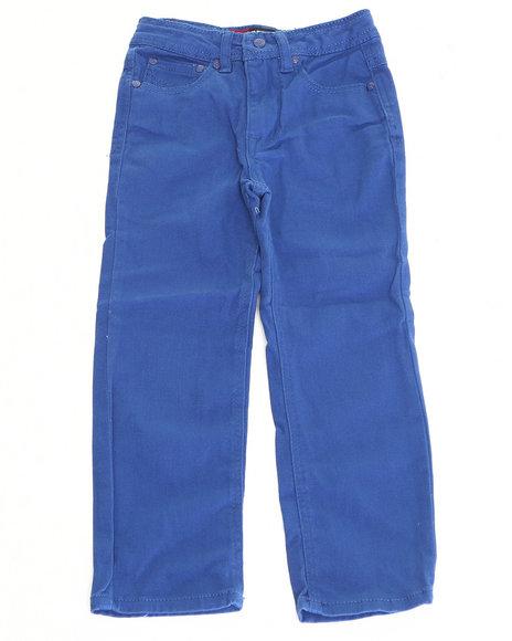 Arcade Styles - Boys Blue Stretch Twill Jeans (4-7)