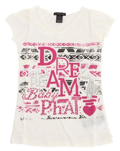 Baby Phat - Girls White Dream Tee (4-6X)