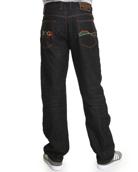 COOGI Men Black Coogi Vintage Denim Jeans