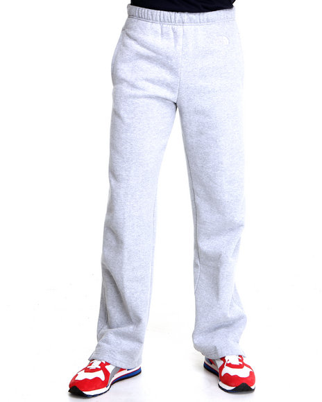 The North Face Light Grey Logo Pants