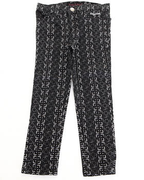 Baby Phat - PRINTED TWILL JEANS (2T-4T)