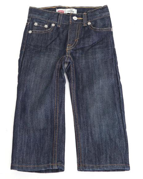 Levi's Boys Medium Wash 514 Glare Slim Straight Jeans (4-7X)