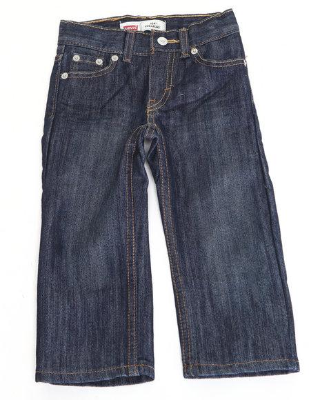 Levi's Boys Medium Wash 514 Glare Slim Straight Jeans (2T-4T)