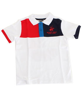 Arcade Styles - COLOR BLOCKED POLO (4-7)