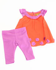 Girls - 2 PC SET - TUNIC & LEGGINGS (INFANT)