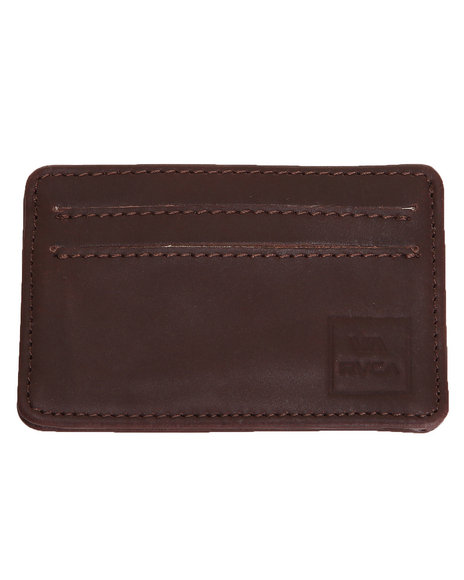 Rvca Cardvelope Wallet Brown