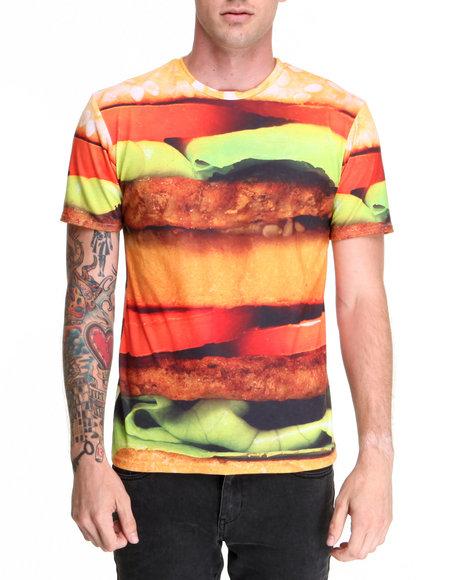 Mr. Gugu & Miss Go - Men Multi Hamburger Tee - $24.99