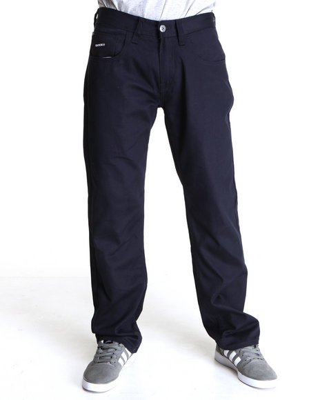Enyce - Men Navy New Tradition Twill Pants