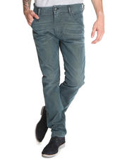 Denim - Krooley Light Blue in Foam Satin Jeans